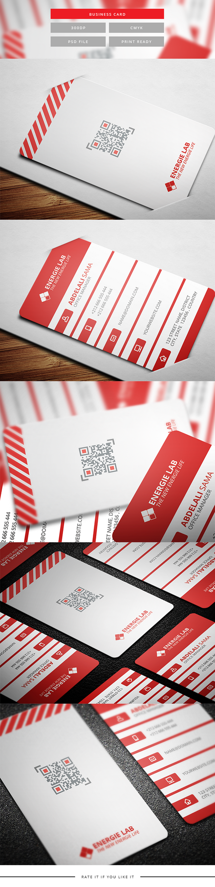 Corporate Business card by karimmove
