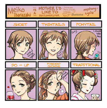 Meiko Is A MIL...BFF by mysterycycle