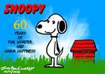 Snoopy 60th Anniversary