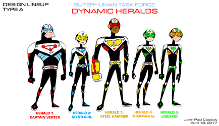 Dynamic Heralds 2017 - Type A by ryuuseipro
