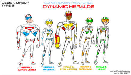 Dynamic Heralds 2017 - Type B by ryuuseipro