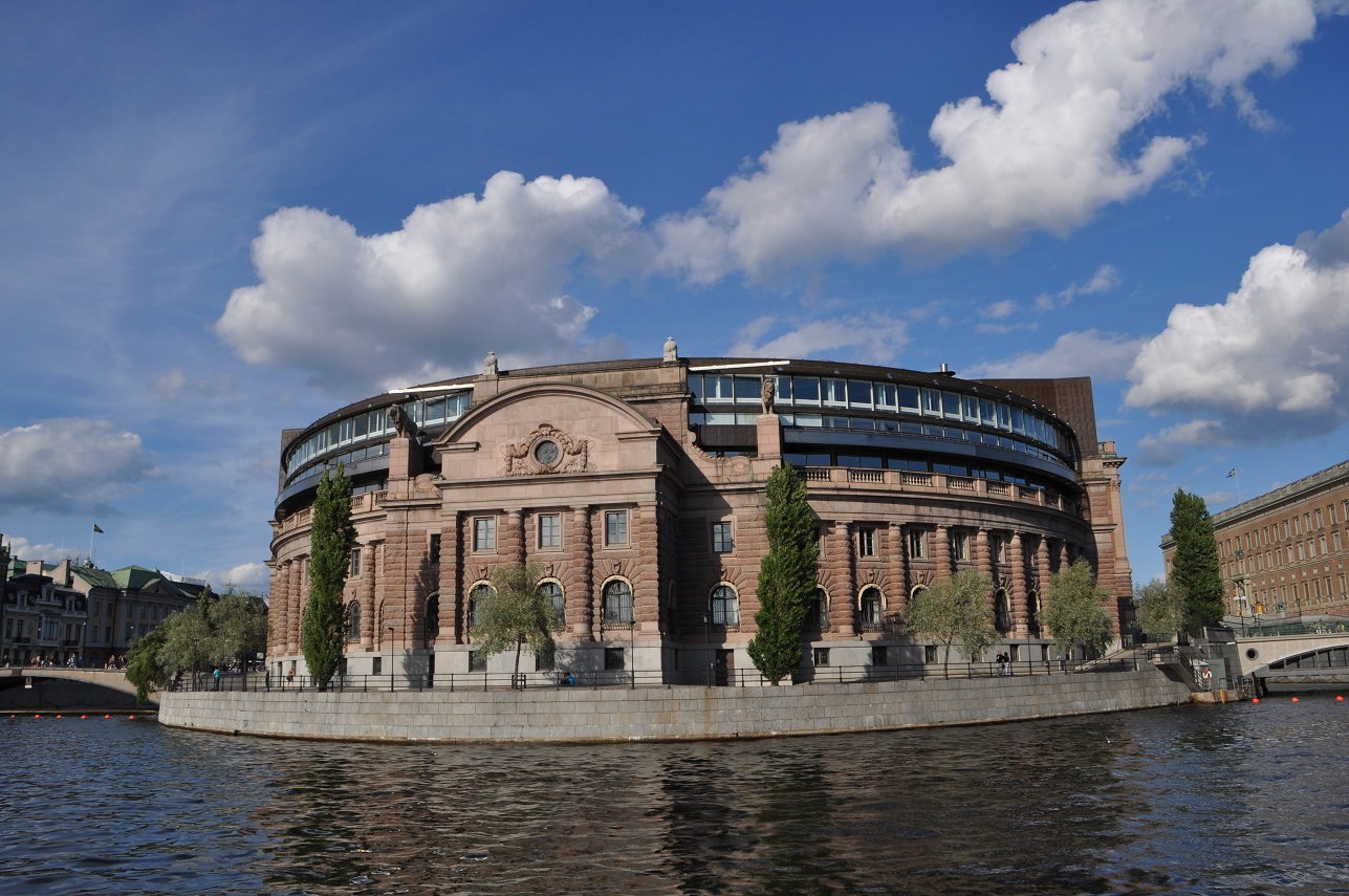 swedish parliament building by lindell21 on deviantart