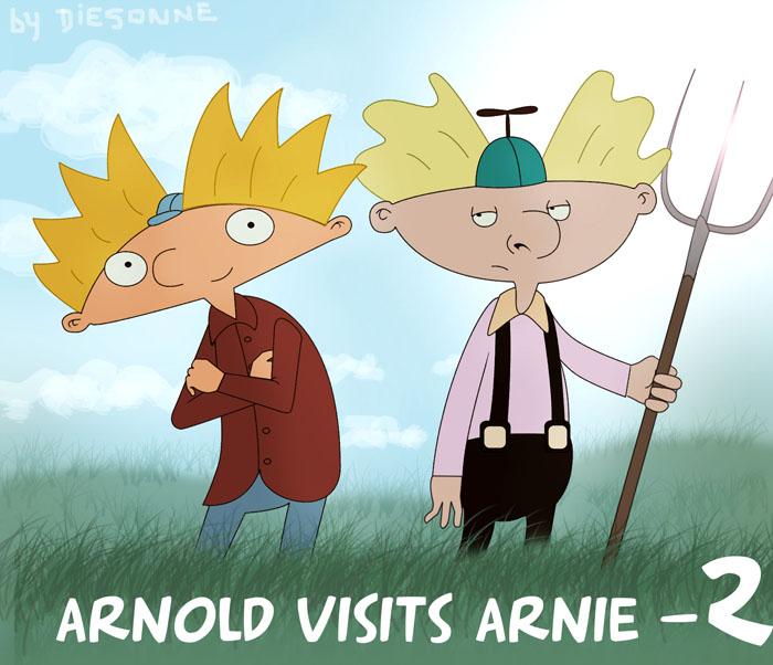 Arnold visits arnie essay