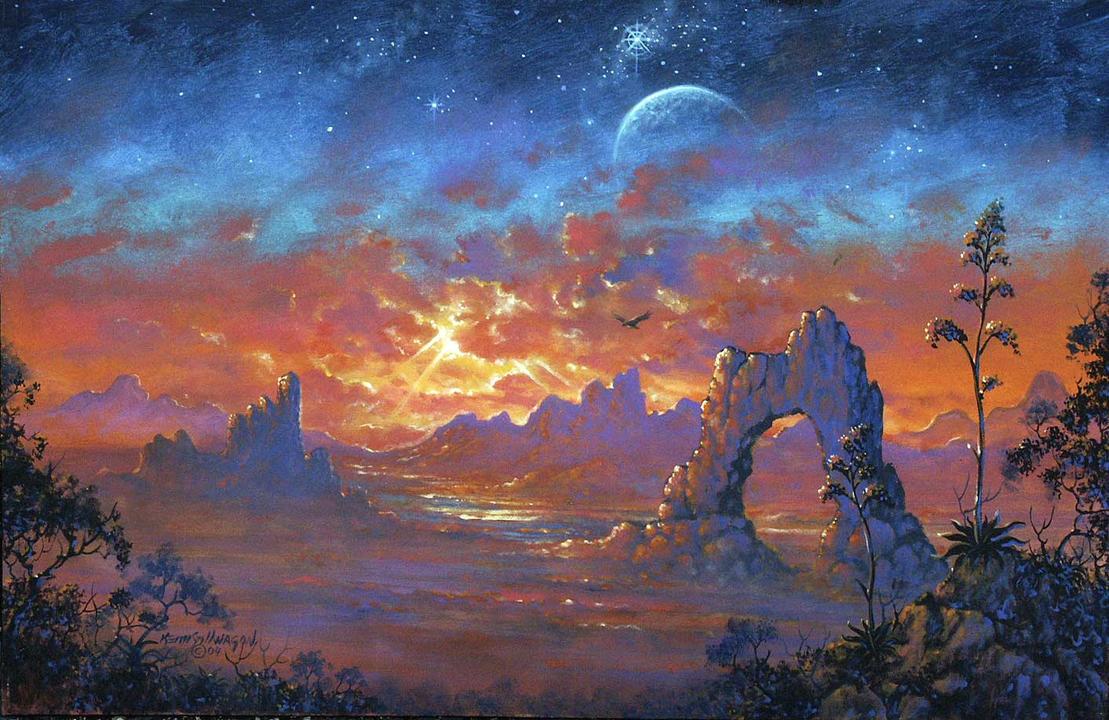 desert dreamscape by stillwagon on deviantart