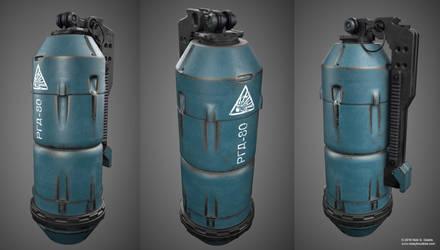 Offensive Hand Grenade Concept