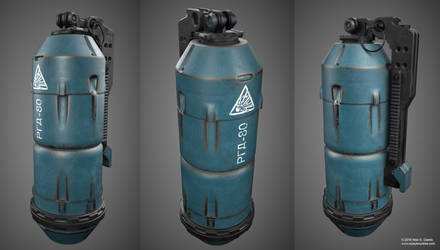 Offensive Hand Grenade Concept by AUMAKUA70