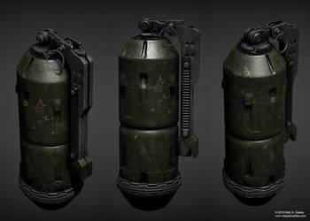 Offensive Hand Grenade Concept Version 2 by AUMAKUA70