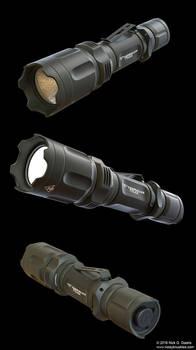 TERRALUX Tactical Flashlight