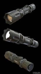 TERRALUX Tactical Flashlight by AUMAKUA70