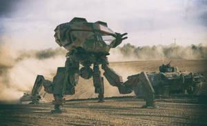 Assault Battle Mech Project LYKOS by AUMAKUA70