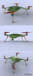 Recreational drone concept by AUMAKUA70