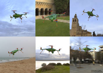 Recreational drone concept
