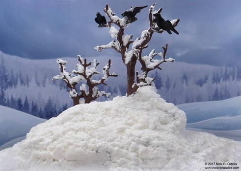 Playmobil Wolf Clan - empty scenery