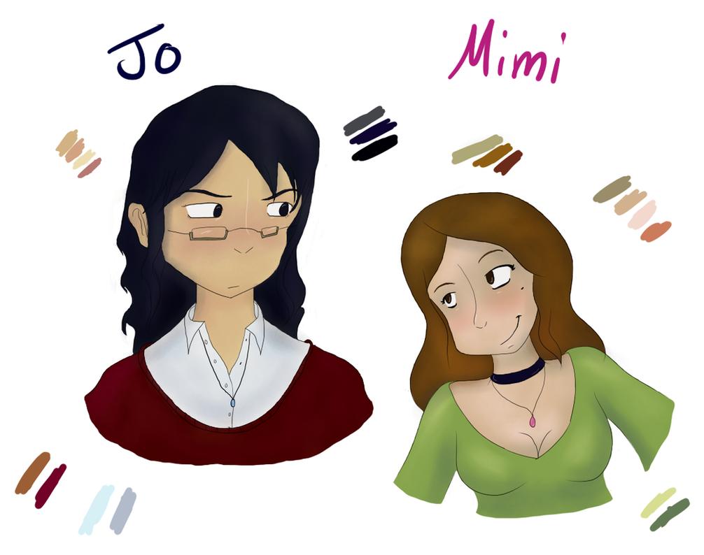 Jo and Mimi by JinjoJess