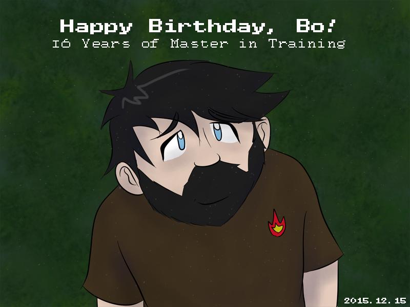 Happy Birthday Bo 2015 by JinjoJess