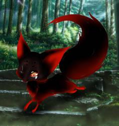 Kitsu(re) fox by Aisu-nee-chan