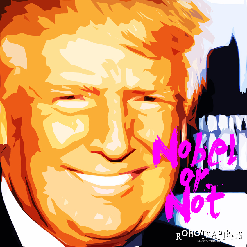 Donald Trump by RobotSapiens