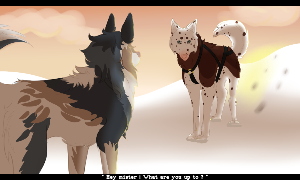 .:ROTD:. | The Long Journey | Illustration by KiteProduction