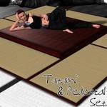 Tatami and Pedestal Freebie