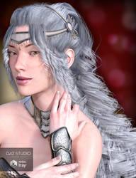 Silver Curls by Aarki