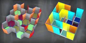 World of Glass: Maze Configurations