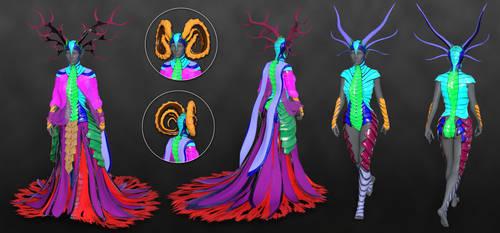 Dragon Empress Parts by Aarki