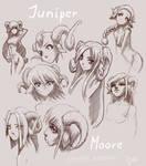 Juniper Moore (raffle commission)