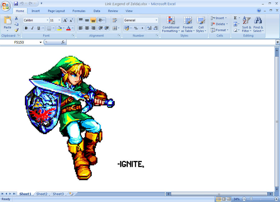 Link made with MSExcel by ignite25