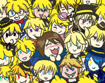 Many Len by powerhiei
