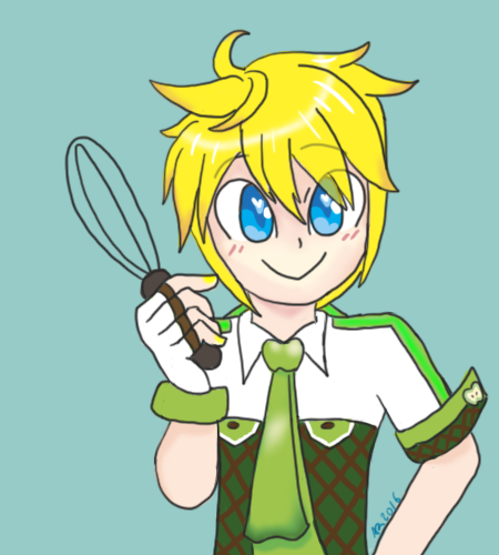 Lenny ready to make an apple pie by powerhiei