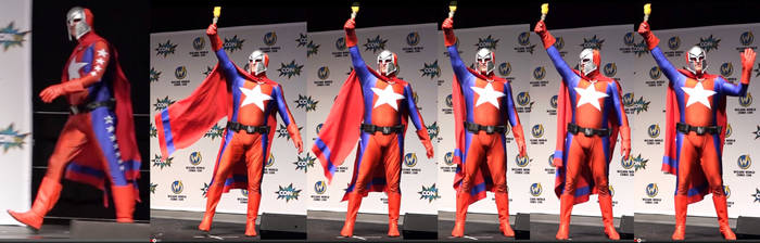 Statesman Onstage at Wizard World Philly Con 2015