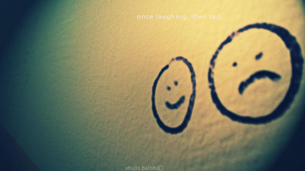 لبخند غمگین ...