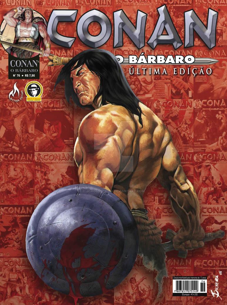 Conan, The Barbarian No. 76 by JoaoBSilveira