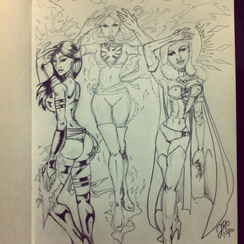 Cyclops' Angels by ArtbyJ-Ro