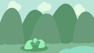 Green jelly bean