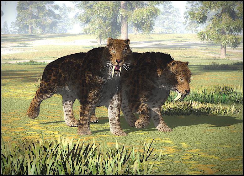 Pleistocene Hunters by ClovisLuik