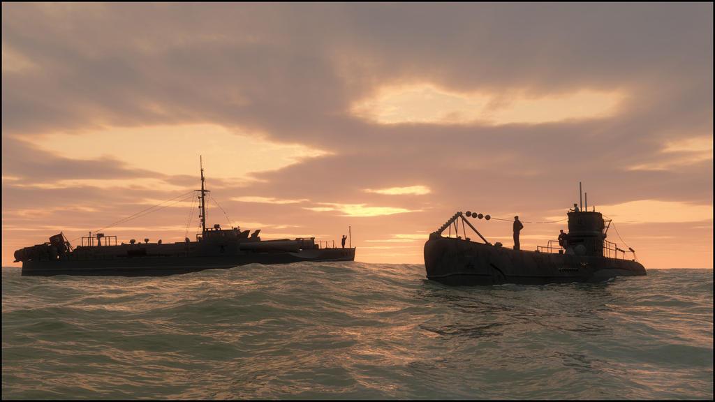Rendezvous At Sea by ClovisLuik