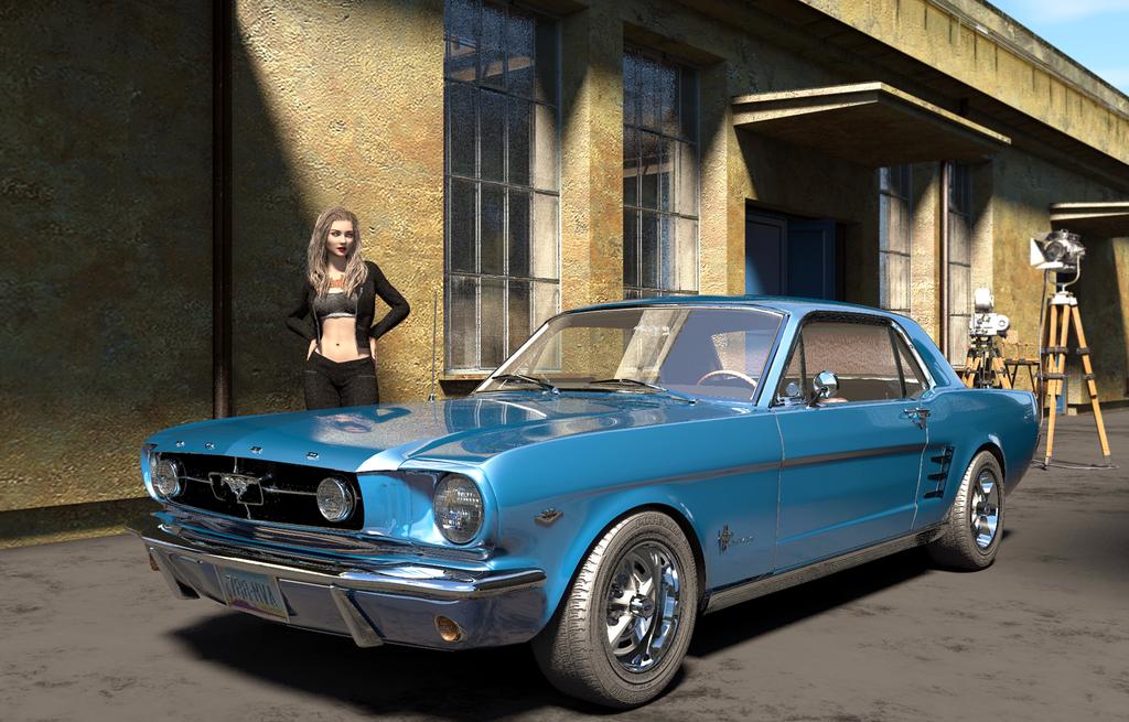 Mustang GT by ClovisLuik