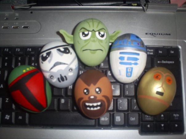 Huevos de Pascua Guerra de las Galaxias
