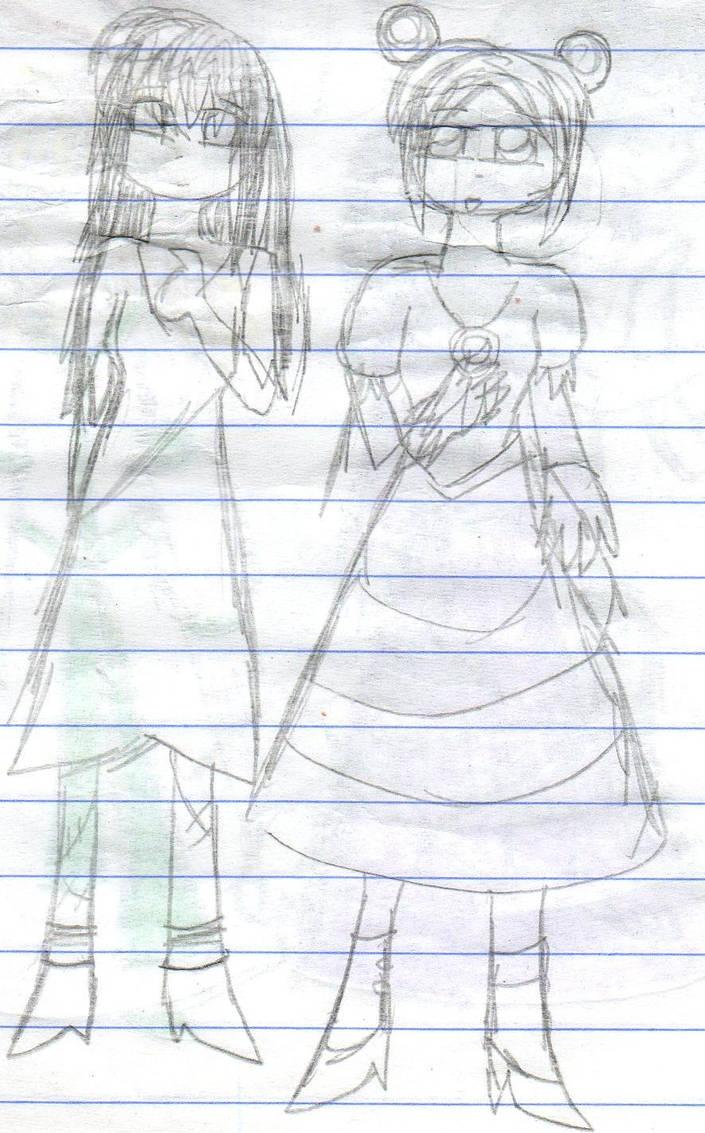 HinataSally JaneTenten by YuiHarunaShinozaki