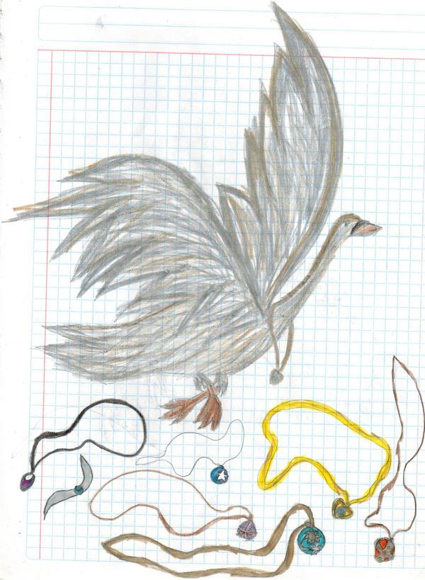 The magic swan and necklaces by YuiHarunaShinozaki