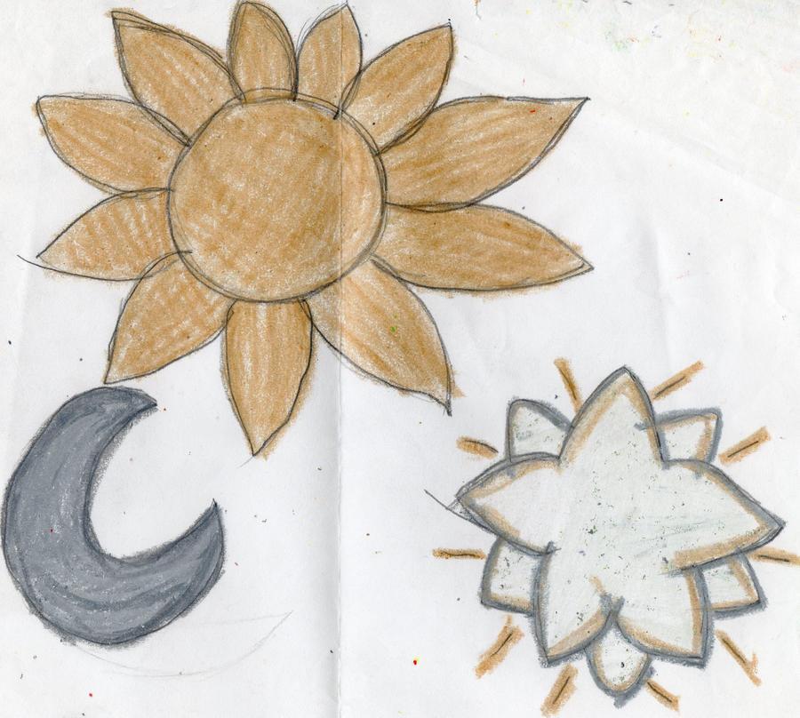 Sun,Moon and Stars by YuiHarunaShinozaki
