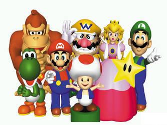 Mario Party main group by YuiHarunaShinozaki