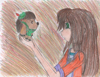 Ondine and Mr. Pricklepants by YuiHarunaShinozaki