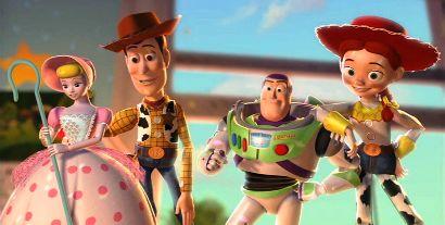 Bo,Woody,Buzz and Jessie by YuiHarunaShinozaki