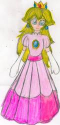 Classic Princess Peach by YuiHarunaShinozaki
