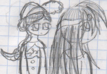 -Jessie and Mila-Huh? by YuiHarunaShinozaki