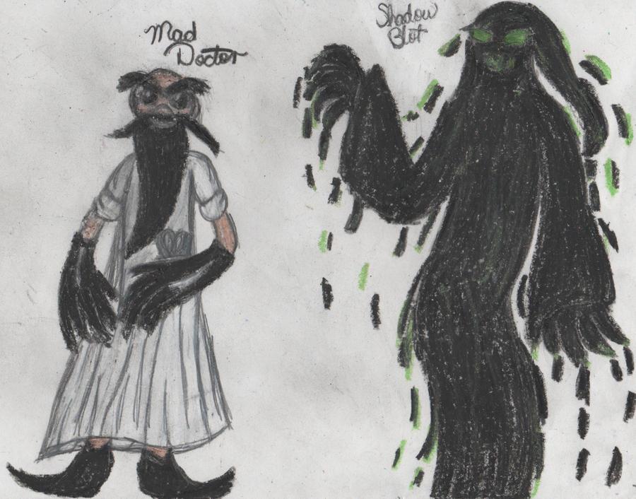 Shadow Blot and Mad Doc by YuiHarunaShinozaki