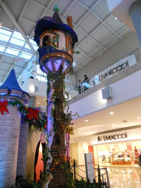 Rapunzel S Tower In A Mall By Yuiharunashinozaki On Deviantart