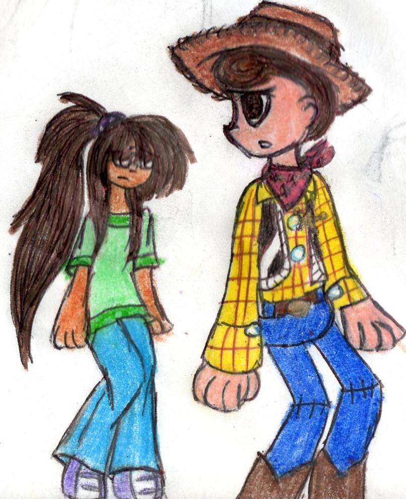 Doddle-Kaoru and Woody by YuiHarunaShinozaki